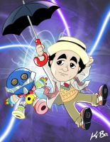 7th Doctor Who Sylvester McCoy by kevinbolk