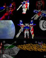 Gundam Wing Compilation by lady-die
