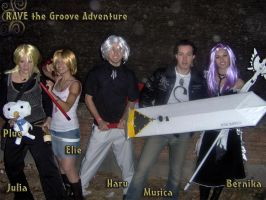 Rave the groove adventure by MaddMorgana