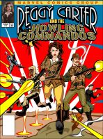 Peggy Carter and the Howling Commandos by VectorAttila
