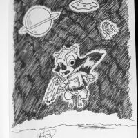 Rocket on the Prowl by johnnyism