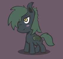 Chibi Batpony Time! by WhatTheScoots