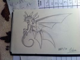 Demon sketch by MrVava63