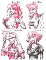 Neo Zeon Women by strangefour