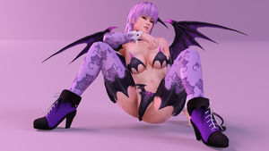 Dead or Alive - Ayane Halloween by DryBoones