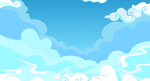 Cloudy Sky Background by GoblinEngineer