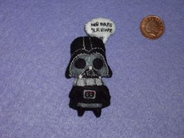 Darth Vader Brooch 'MIR wars survivor' by neferush