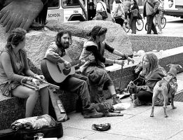 Street music I by thorshammerthor