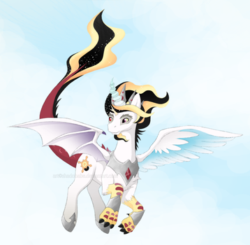 Prince Pax Flying by ShadOBabe