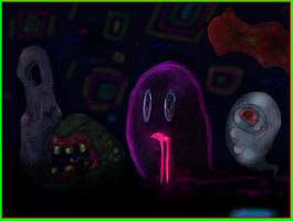 Yume Nikki Monsters by tantsnor