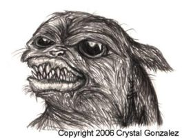 Evil little Pug by Comickpro