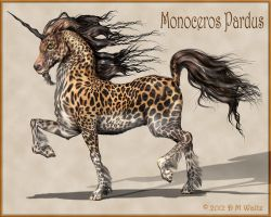 Monoceros Pardus by Daio