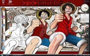 Luffy Desktop by aiub