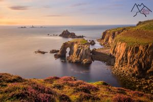 Lands end cornish coastline UK by StefanPrech