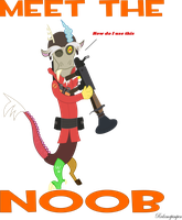 Discord the noob by Redxmrpimpen
