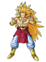 SSJ3 Broly by brolyeuphyfusion9500