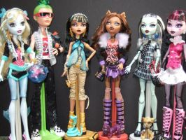 Monster High Doll Collection by StarRacerEva