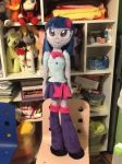 Life sized/ waifu EG Twilight Sparkle by Chanditoys