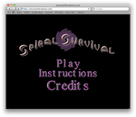 Spiral Survival Title Screen by ChozoBoy