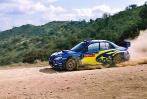 2007, Peter Solberg, Subaru, Ourique, Portugal by F1PAM