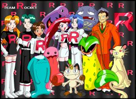 It's Team Rocket by Shaami