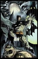 Batman by shubcthulhu