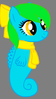 My little Sono: Sea pony by Guan-pued
