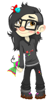 Sugar Rush Skrillex by PervyJrocker