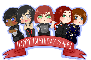 Happy Birthday Shepard! by Tsukahime