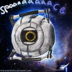 Space Core meets Arwing in SPAAAAACEEEE lol by Pharaonenfuchs