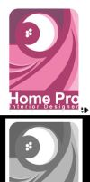 """Logo """"Home Pro"""" by LH310"""