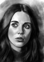 Alison Brie sketch 2 by tonyob