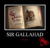 Sir Gallahad by adelinegothic