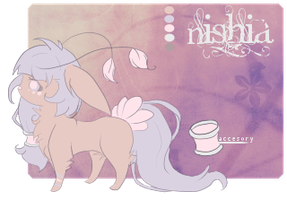 Reference Sheet || Nishia by nakittr
