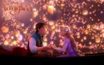 Tangled I see the light Wall by Yamakara