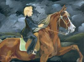 Malfoy s riding  lessons by Templado