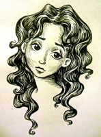 Curly-Haired Angel by bananaboo2