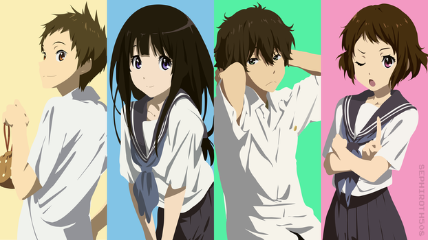 Hyouka | Vector by Sephiroth508