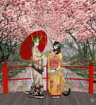 At the Sakura Festival by ithor