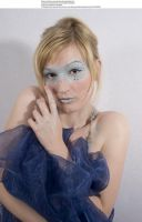 Blue mask 7 by almudena-stock