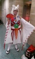 My Amaterasu Cosplay for AX 2014 by JeanLuz