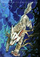 ACEO Line Between by Sysirauta
