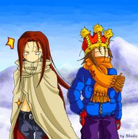 Shaman King: Hao et Yoh by Shailo