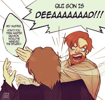 Qui-Gon is DEAD by Matereya