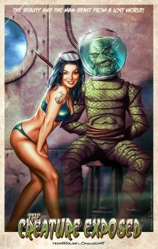 The Creature Exposed by Valzonline