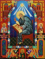Venerable St. Bede by angelboi-red