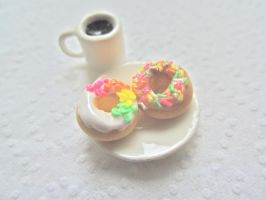 Rainbow donuts by AGTCT