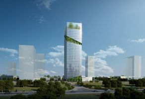 Competition: Imron Financial Tower (2nd Place) by Wittermark