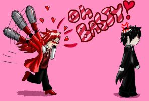 Grell And Bassy by stopthinkmove
