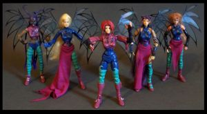 w.i.t.c.h custom figures by nightwing1975